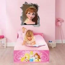 Vinyles disney frozen princesse anna 3d