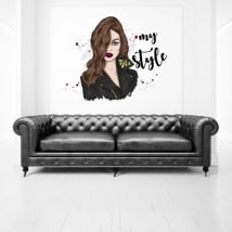 Vinyles décoratifs et autocollants femme my style