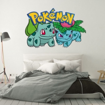 Autocollants pokémon bulbasaur
