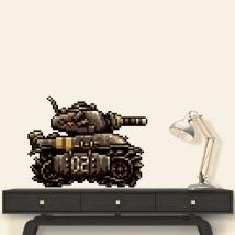 Autocollant de réservoir de métal slug