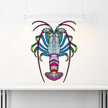 Autocollants de homard