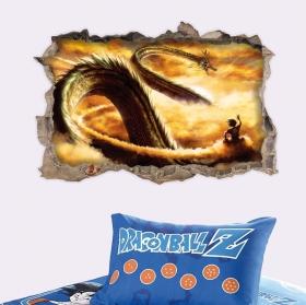 Vinyle et autocollants dragon ball 3d