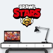 Vinyles et autocollants logo brawl stars