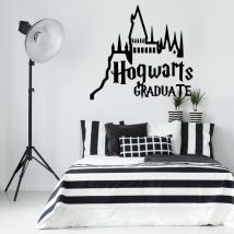 Vinyles décoratifs harry potter hogwarts graduate