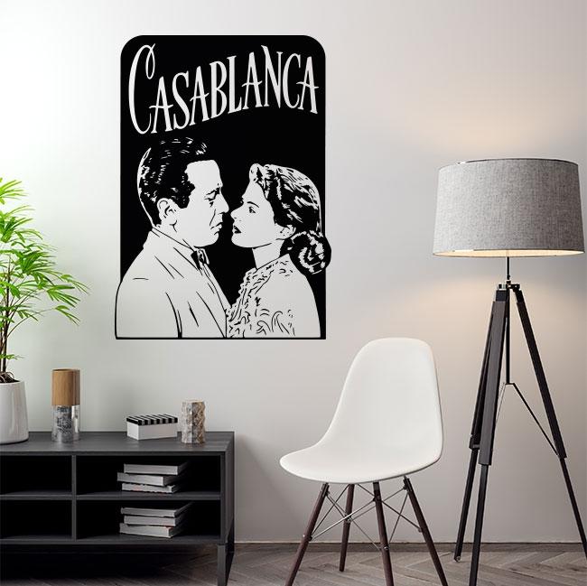 Vinyles décoratifs film de casablanca