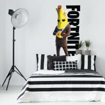 Vinyles décoratifs jeu vidéo banane fortnite