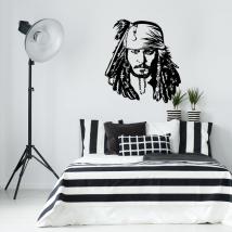 Vinyle décoratif jack sparrow pirates des caraïbes