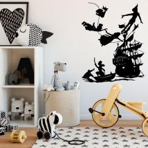 Vinyle décoratif pour enfants peter pan
