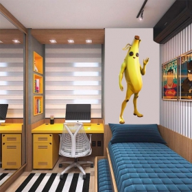 Vinyles jeu vidéo fortnite banane