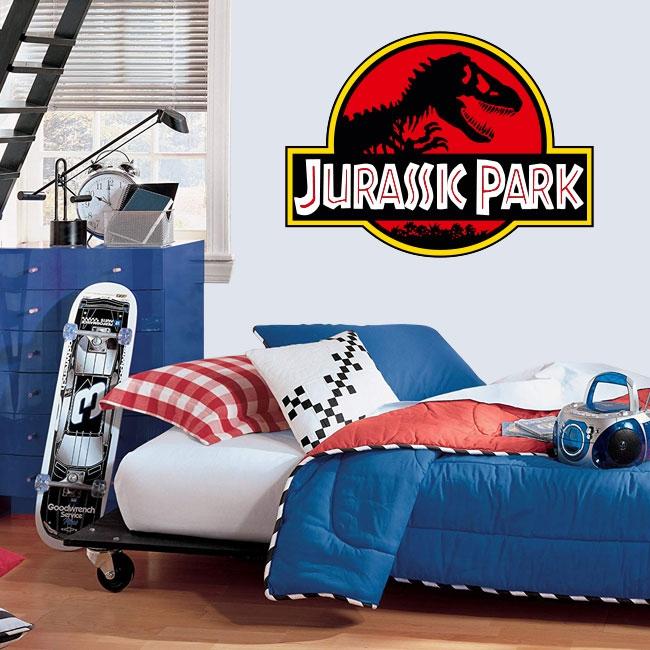 Vinyles décoratifs parc jurassique logo