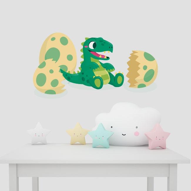 Vinyle pour bébés dinosaure