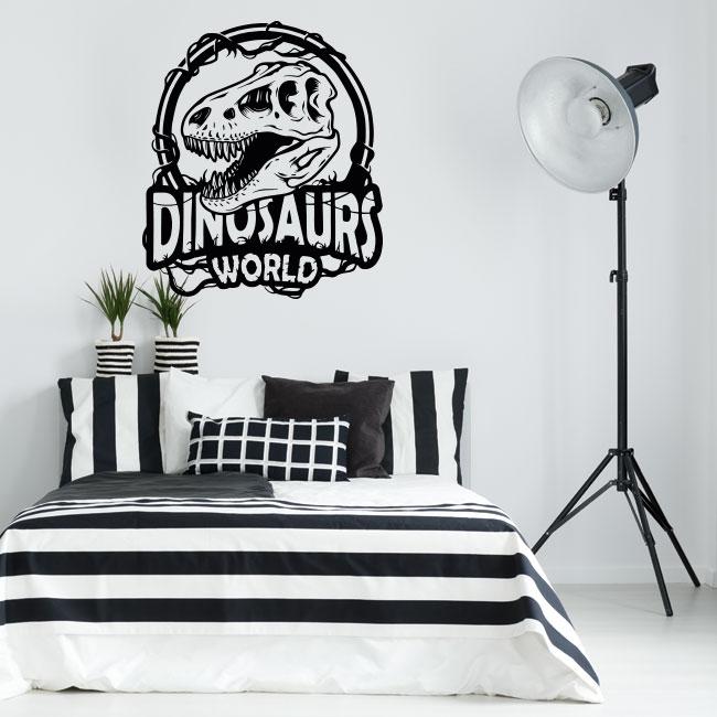 Vinyles et autocollants dinosaurs world