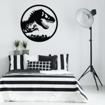 Vinyles décoratifs et autocollants dinosaure