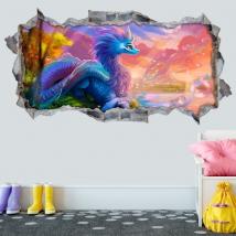 Vinyles décoratifs 3d raya et le dernier dragon