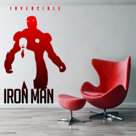 Vinyles marvel iron man invincible