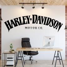 Autocollants en vinyle harley davidson