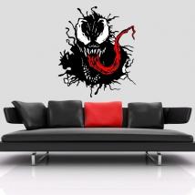 Vinyles décoratifs venom marvel