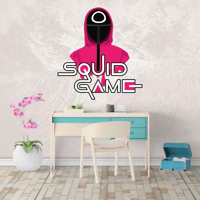 Autocollants netflix squid game
