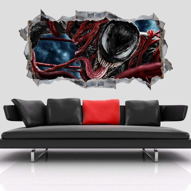 Vinyles décoratifs 3d marvel venom