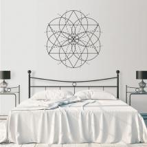 Vinyles décoratifs géométrie décorative