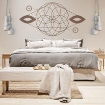 Vinyles décoratifs formes géométriques
